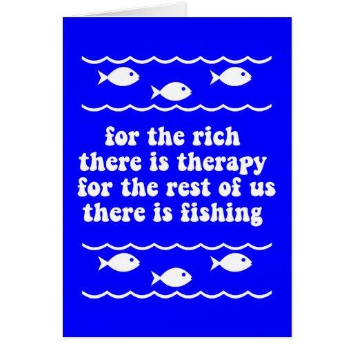 Para los ricos hay terapia tarjetón