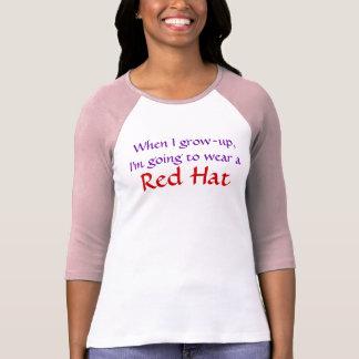 Para los sombrereros rosados camiseta