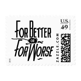 Para mejor o para peor sello postal