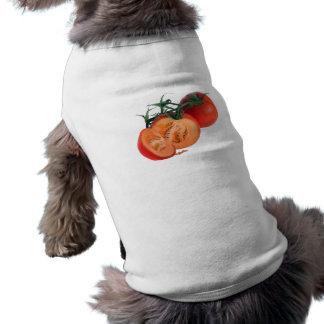 Para - melón (fruta extraña) camisetas de perrito