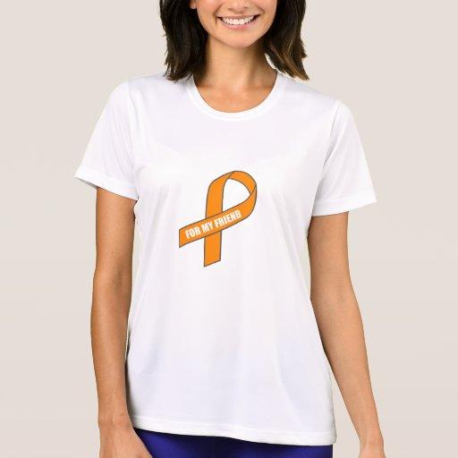Para mi amigo (cinta anaranjada) camiseta
