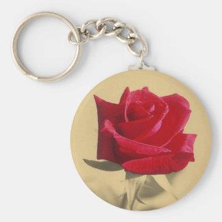 Para mi amor: Tarjeta del día de San Valentín del  Llavero Redondo Tipo Pin