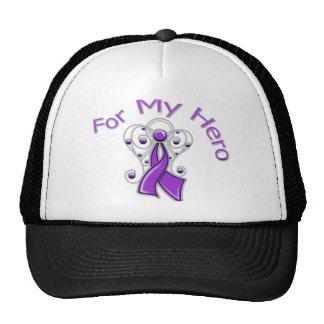 Para mi cáncer pancreático de la cinta del ángel d gorro