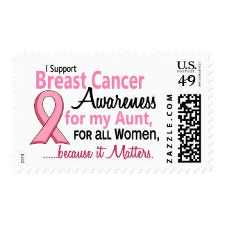 Para mi conciencia del cáncer de la tía pecho envio
