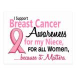 Para mi conciencia del cáncer de pecho de la sobri postales