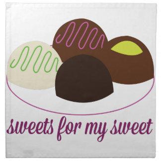 Para mi dulce servilletas