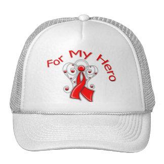 Para mi enfermedad cardíaca de la cinta del ángel  gorra