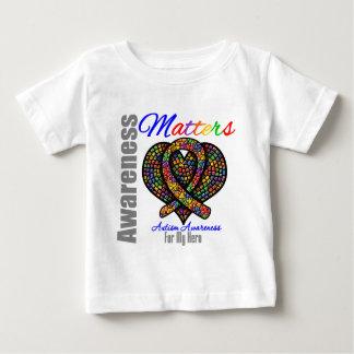 Para mi héroe - conciencia del autismo camisas