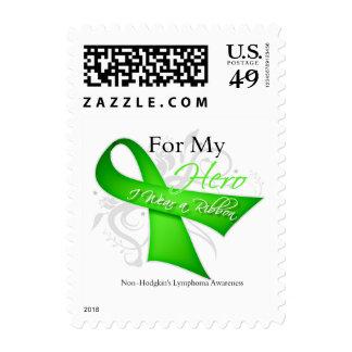 Para mi héroe llevo un linfoma Non-Hodgkin de la Sello Postal