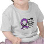 Para mi héroe mi Brother - conciencia púrpura de l Camiseta