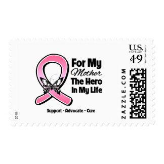 Para mi héroe mi cáncer de pecho de la madre estampillas