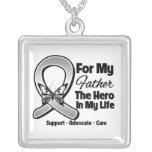 Para mi héroe mi padre - cáncer de cerebro joyeria