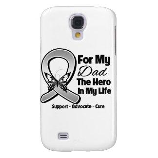 Para mi héroe mi papá - cáncer de cerebro funda para galaxy s4