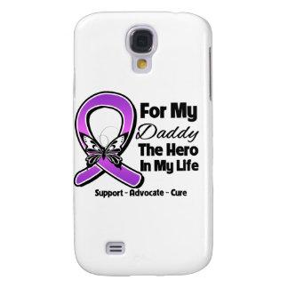 Para mi héroe mi papá - conciencia púrpura de la c