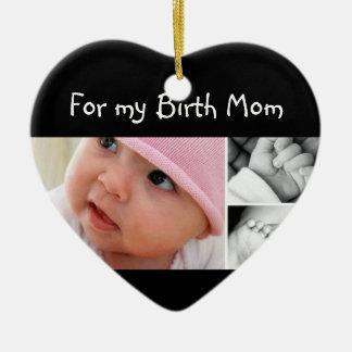 Para mi mamá del nacimiento en navidad ornamento para reyes magos