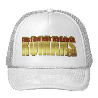 Para mí no estoy avergonzado gorra