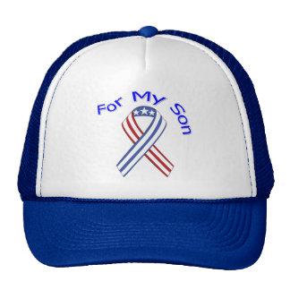 Para mi patriótico militar del hijo gorras