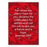 Para mí sé los planes que tengo….  29:11 de Jeremi Felicitacion