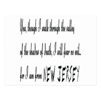 Para mí soy de postal de New Jersey
