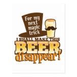 Para mi TRUCO MÁGICO siguiente haré esta cerveza S Tarjeta Postal