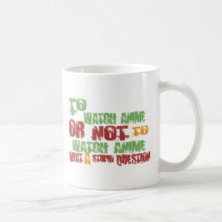 Para mirar animado tazas de café