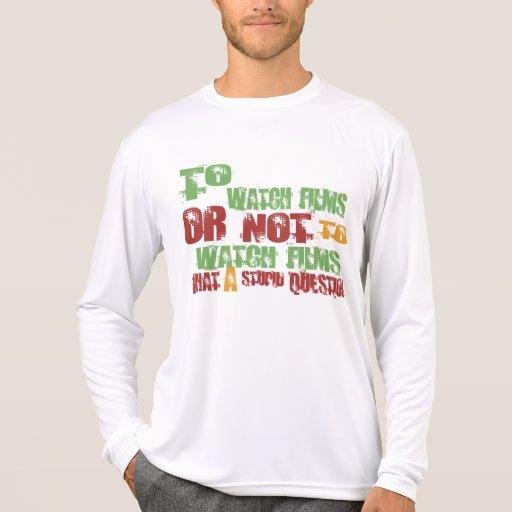 Para mirar las películas camisetas
