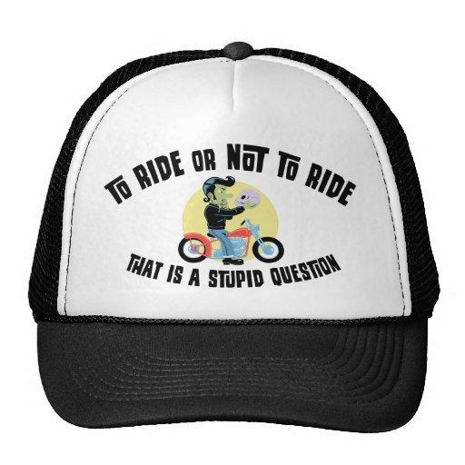 Para montar o no montar gorra