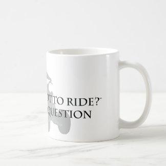 Para montar o no montar taza básica blanca