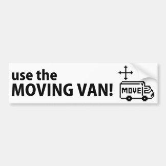 ¡Para mover el textbox, utilice la furgoneta móvil Pegatina Para Auto