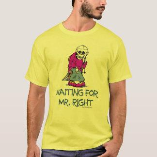 Para Mr.Right que espera Playera