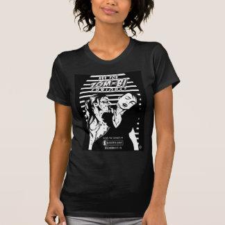 Para mujer curioso del Zom-BI Camisetas