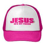 Para mujer él '' s mi gorra del amigo