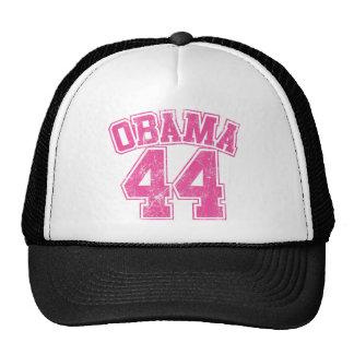 para mujer ligero rosado de obama 44 gorro