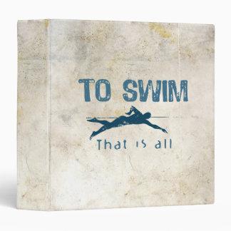 Para nadar