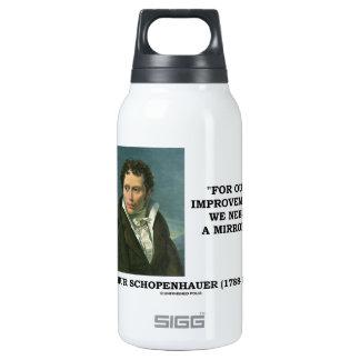 Para nuestra mejora necesitamos un espejo botella isotérmica de agua