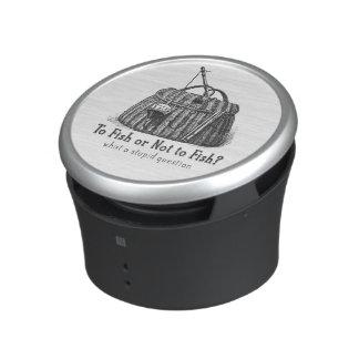 para pescar o caja de aparejos no estúpida del altavoz bluetooth