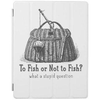 para pescar o caja de aparejos no estúpida del cubierta de iPad