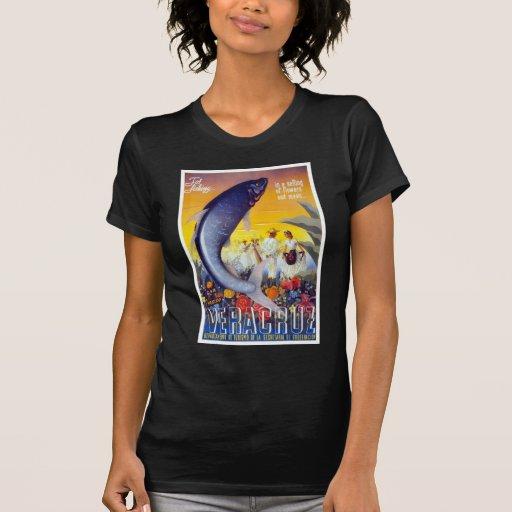 Para pescar Veracruz México Camisetas