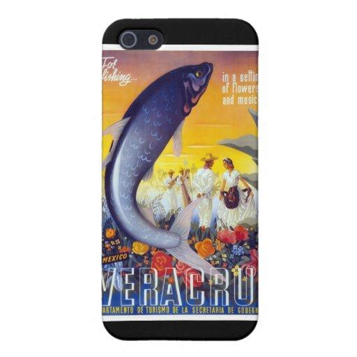 Para pescar Veracruz México iPhone 5 Protectores