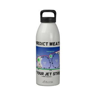 Para predecir el tiempo sepa sus corrientes de cho botellas de agua reutilizables