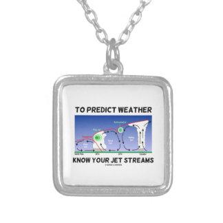 Para predecir el tiempo sepa sus corrientes de cho collar personalizado