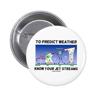 Para predecir el tiempo sepa sus corrientes de cho pin
