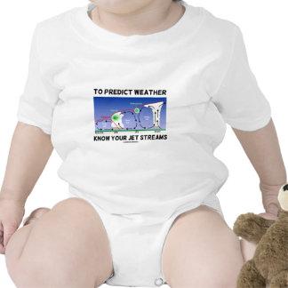 Para predecir el tiempo sepa sus corrientes de cho trajes de bebé