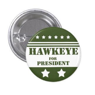 Para presidente Hawkeye Pin