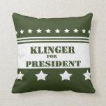 Para presidente Klinger Almohadas