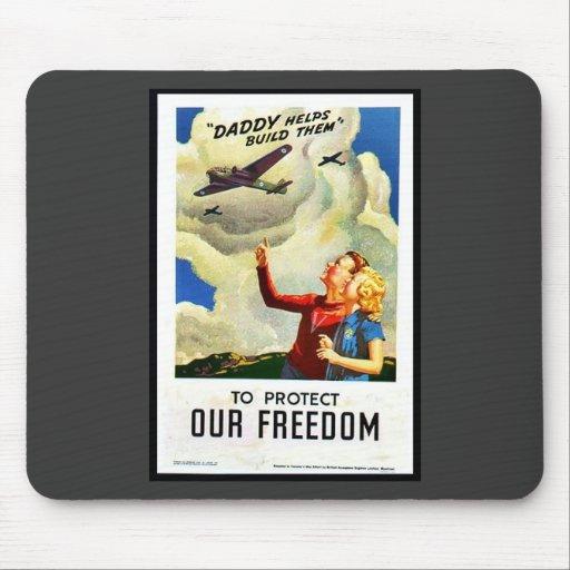 Para proteger nuestra libertad alfombrilla de raton