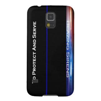 """""""Para proteger y servir """" Fundas Para Galaxy S5"""