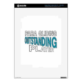 PARA QUE DESLIZAN AL JUGADOR EXCEPCIONAL PEGATINA SKIN PARA iPad 3