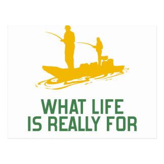 Para qué vida es realmente postal