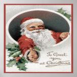 Para saludarle en el navidad poster